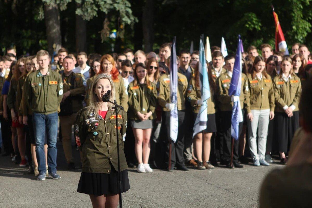 В МГУ открылся 60-й трудовой семестр.