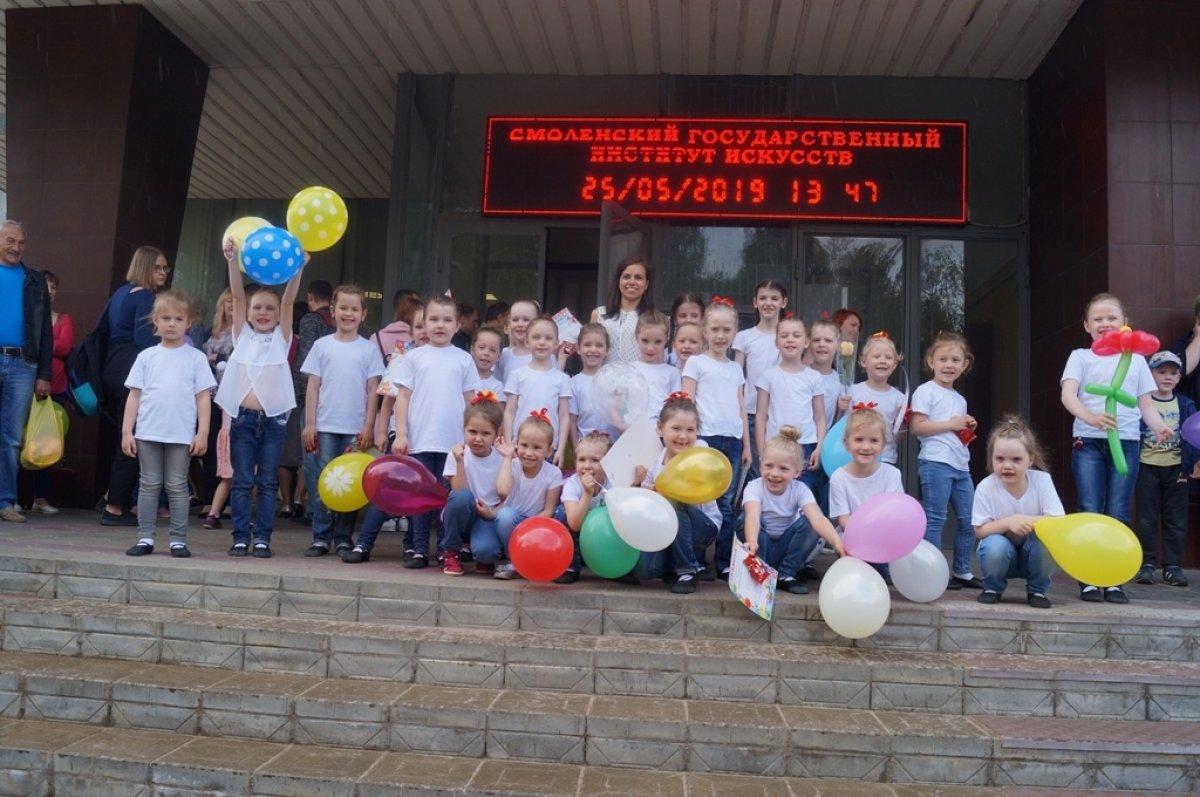 Отчетный концерт детских студий Отдела народной культуры и досуга