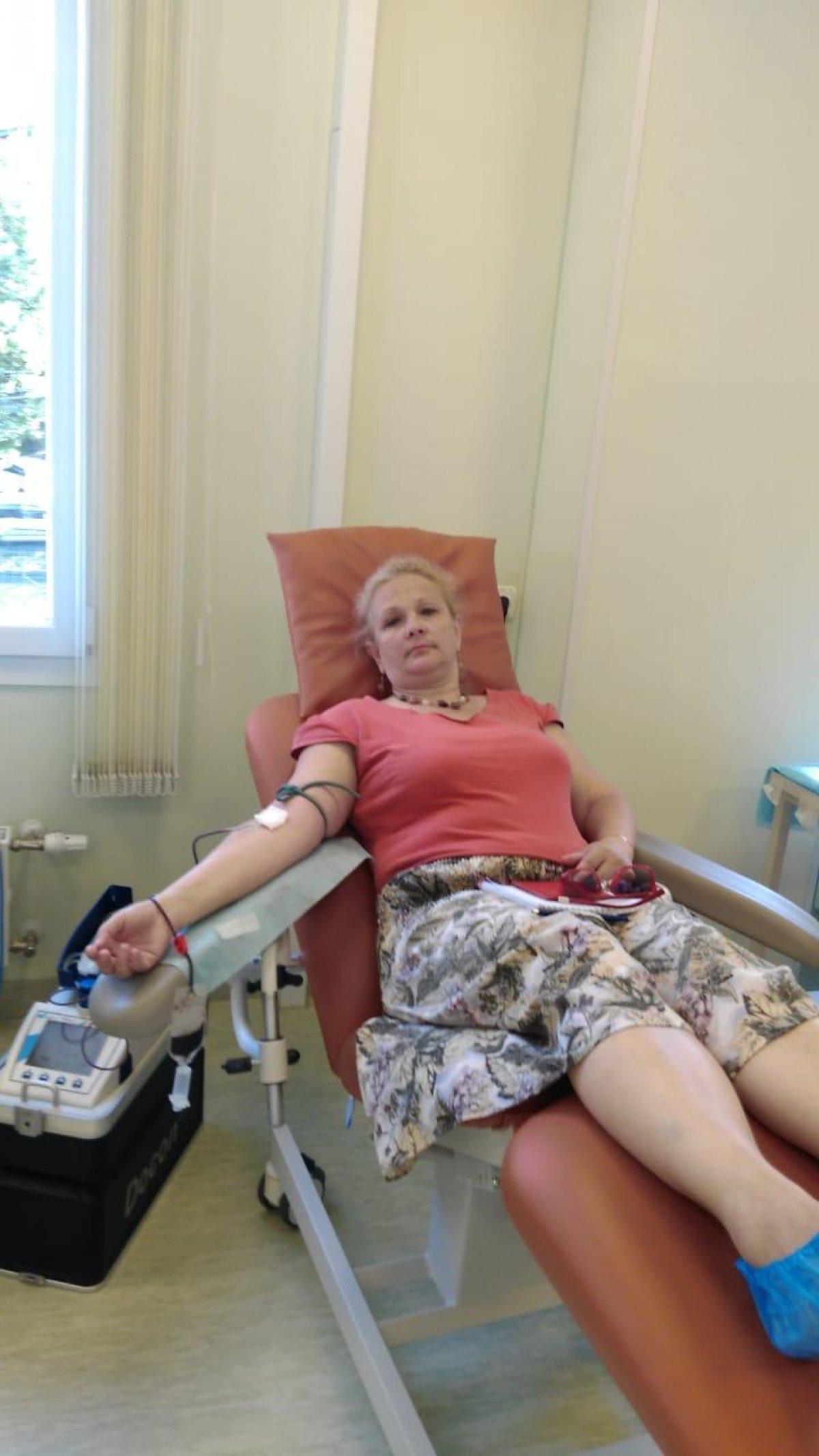14 июня во Всемирный день донора 9 студентов и сотрудников Сочинского государственного университета сдали кровь для нужд Городской детской больницы г.Сочи в рамках краевой акции «Добровольцы детям»