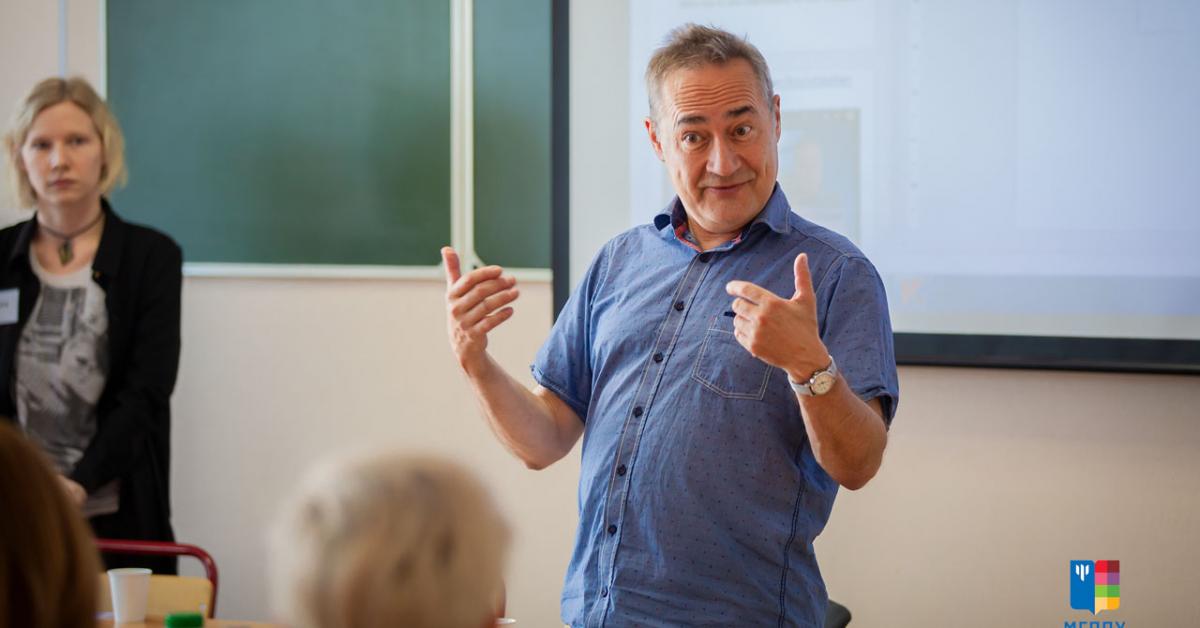 Бен Фурман провёл семинар в МГППУ