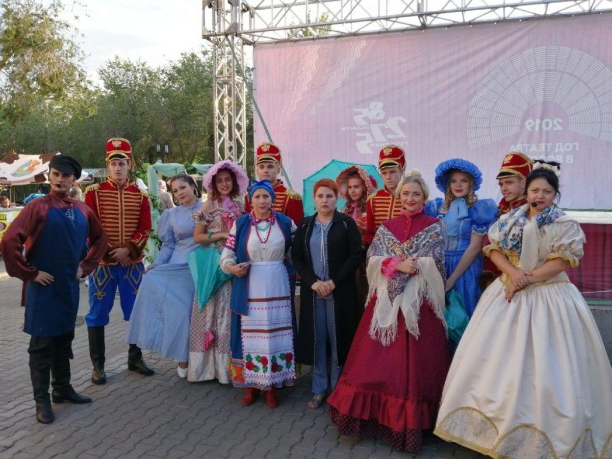 В Оренбурге завершил свою работу проект «Театральная среда». На протяжении 5 месяцев