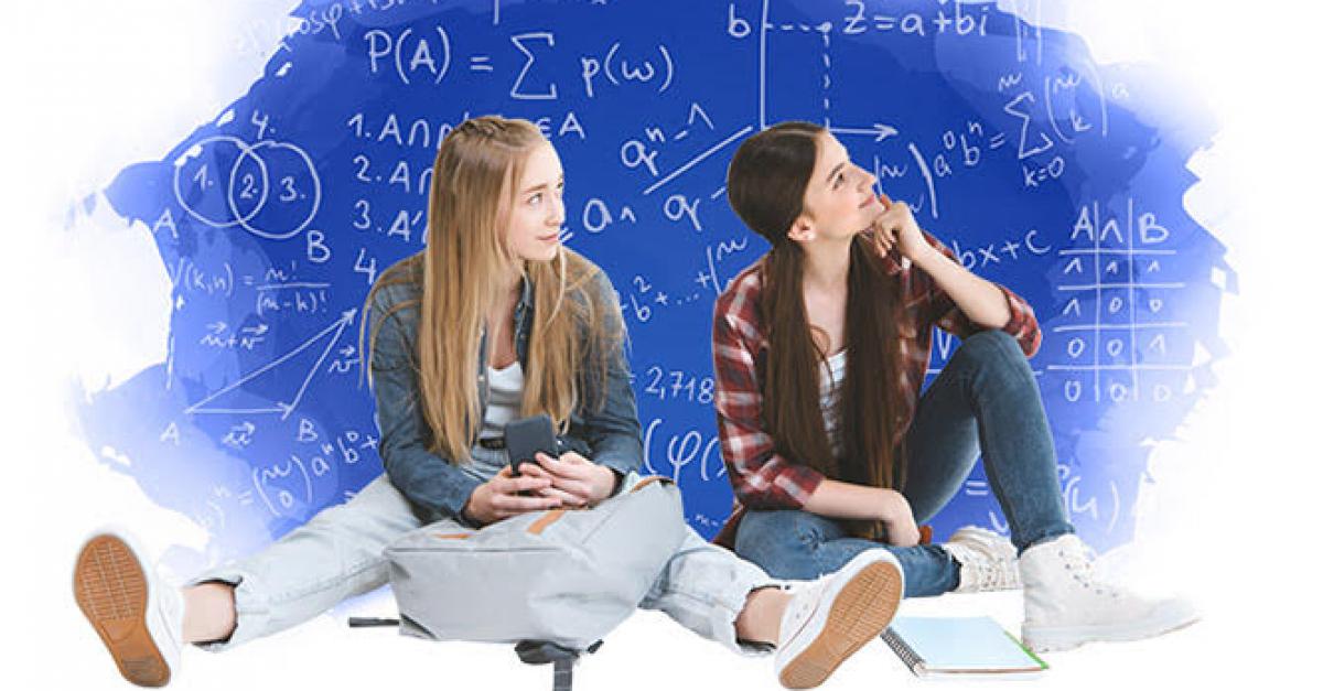 Старшеклассницы могут выиграть грант на обучение математике