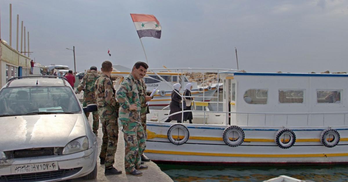 Международная подводно-археологическая экспедиция СевГУ стартовала в Сирии