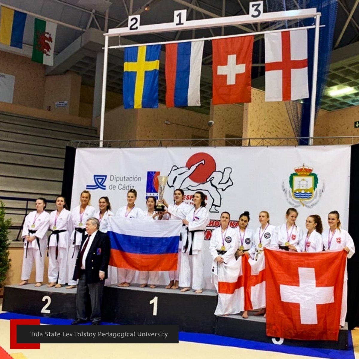 Золото на чемпионате Европы и первенстве России по восточному боевому единоборству 💪