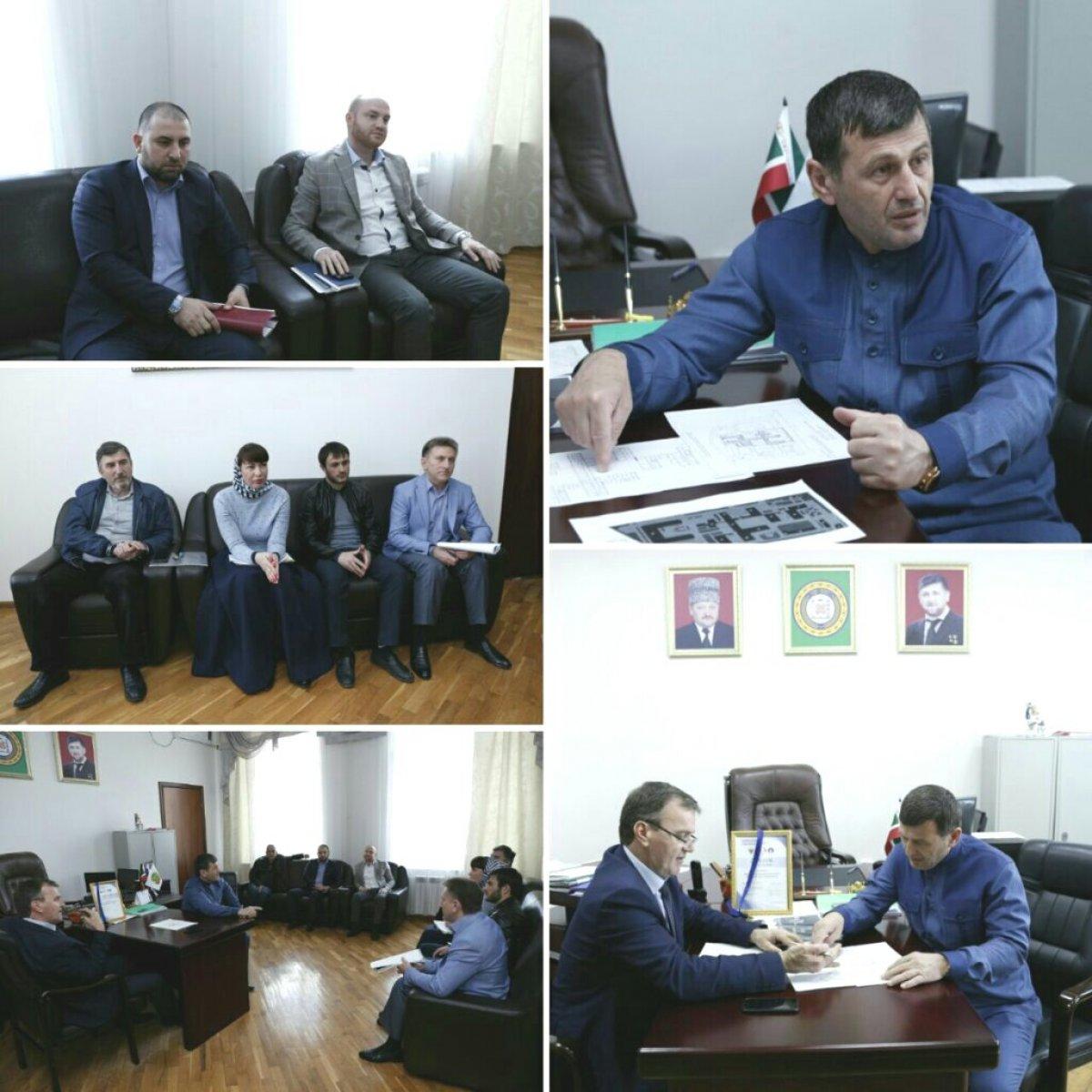 В Медицинском институте Чеченского государственного университета состоялось совещание