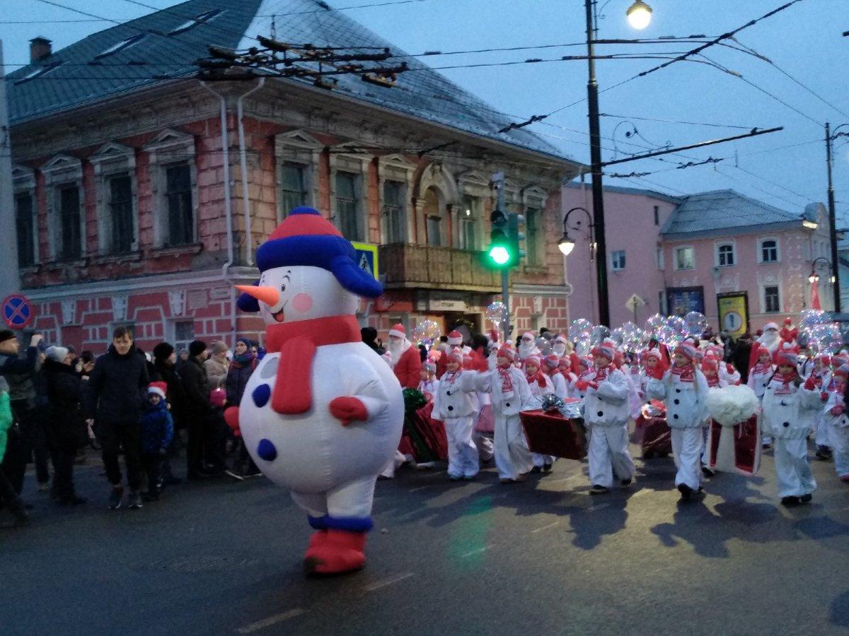 14 декабря в нашем городе прошло традиционное новогоднее мероприятие - НаШествие Дедов Морозов. Город окутала атмосфера наступающего праздника