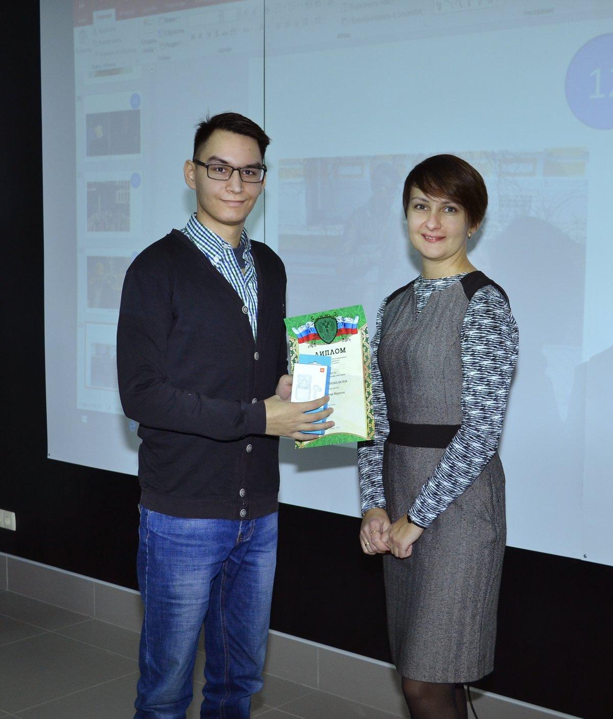 """В рамках встречи """"Творческий калейдоскоп"""" состоялось награждение победителей конкурса на лучший дизайн рекламной листовки."""