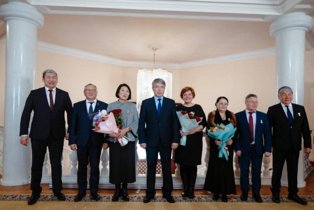 Поздравляем лауреатов Государственной премии Республики Бурятия в области науки и техники!