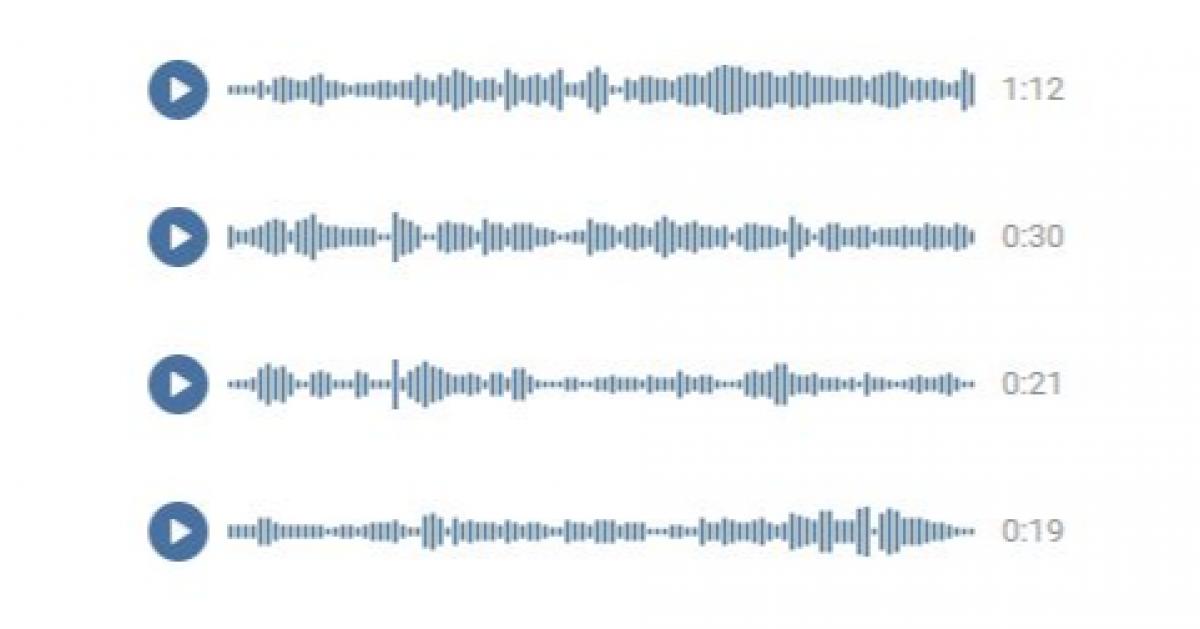 «ВКонтакте» тестирует функцию расшифровки голосовых сообщений