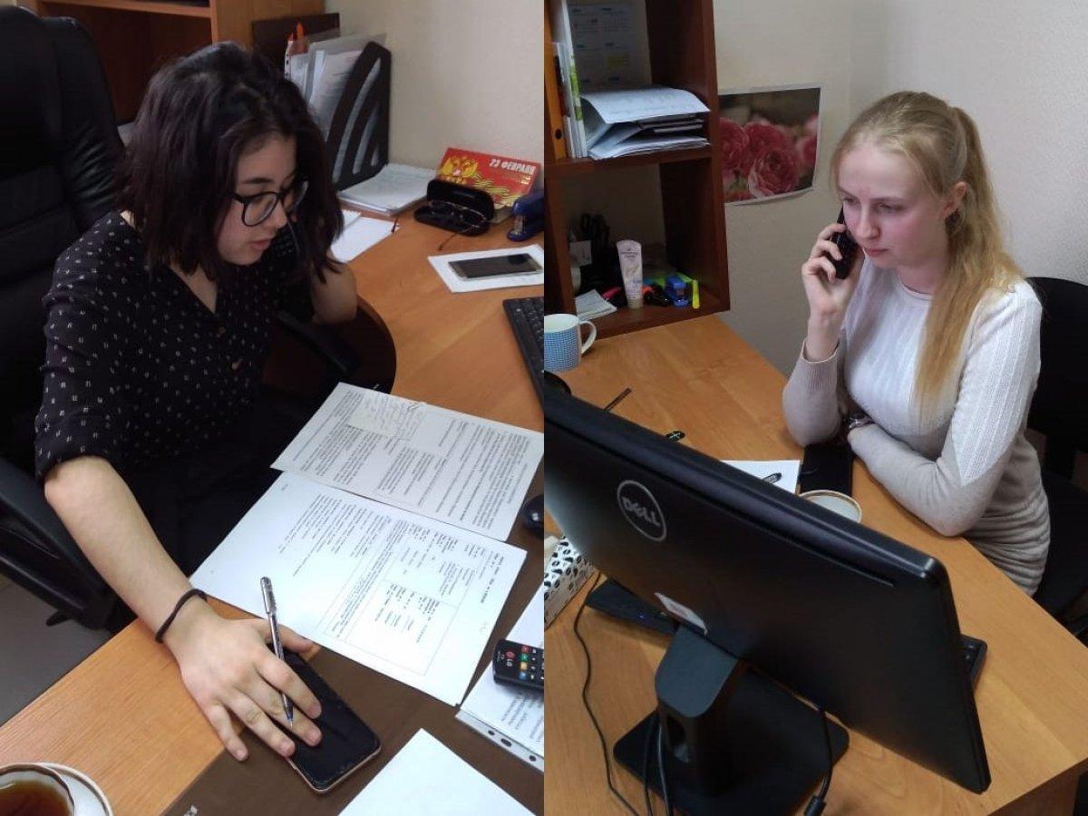 Добровольцы Волонтёрского центра ТвГУ активно участвуют во всероссийском проекте «ОНФ. ПОМОЩЬ»
