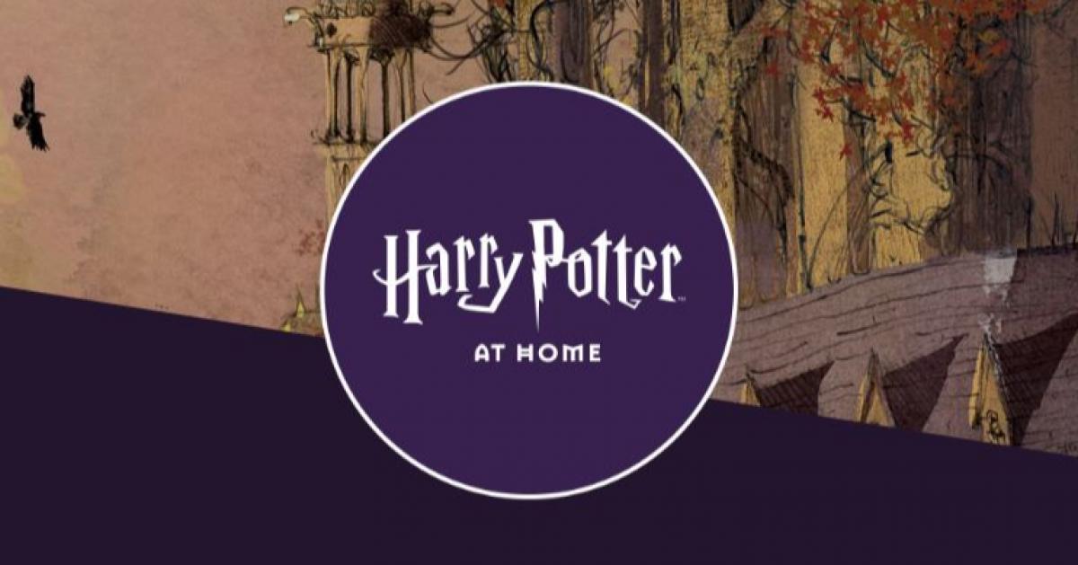 Гарри Поттер дома: сайт с играми и головоломками запустила Джоан Роулинг