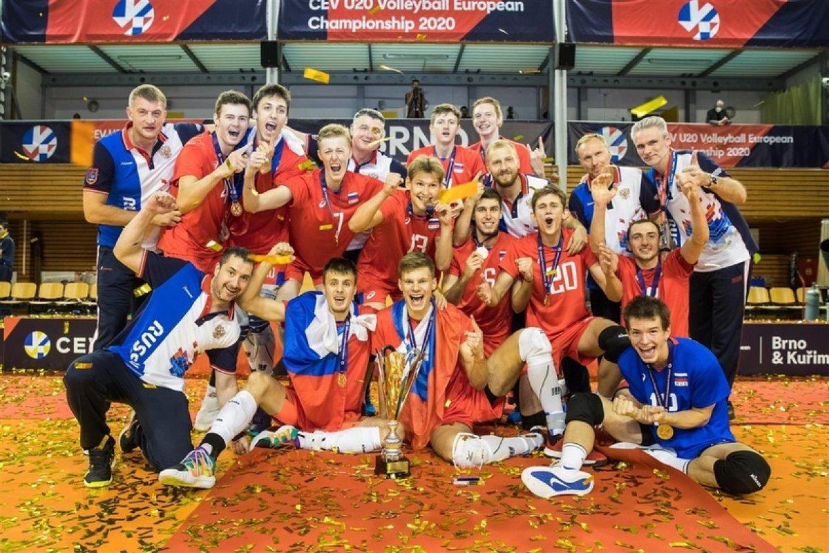 Студент ФФКиС Чемпион Европы в составе молодежной сборной России по волейболу 2020