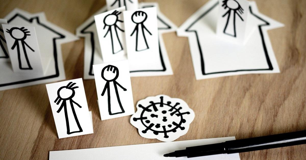 Люди с высоким доходом больше склонны к самозащите от COVID-19