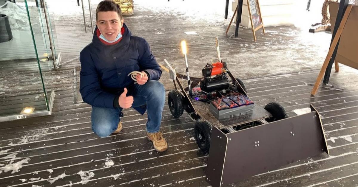 Робот-художник покроет лед Чистых прудов цитатами песен Цоя