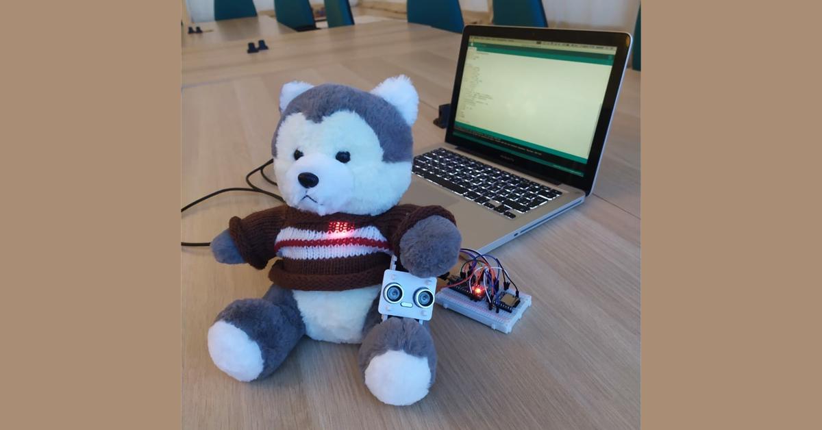 Ученики московской школы создали волка-робота в помощь воспитателям детсада
